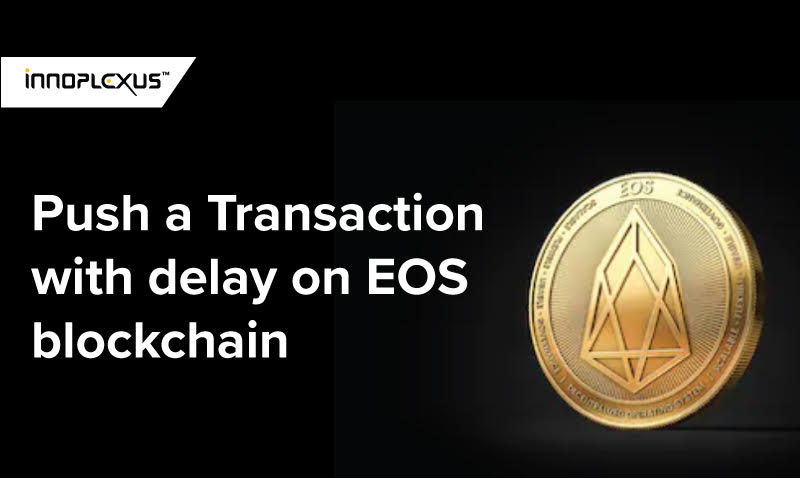 Transaction EOS blockchain